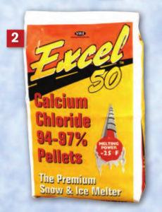 Excel 50 rock salt ice melt