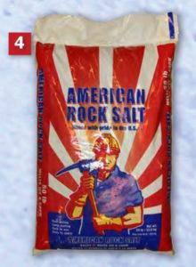 American rock salt ice melt