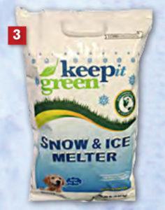 Keep it green ice melt rock salt